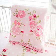 Rosebud Lane 3pc Crib Bedding Set