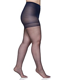Women's  Plus Size Ultra Sheer Control Top Pantyhose, 4411