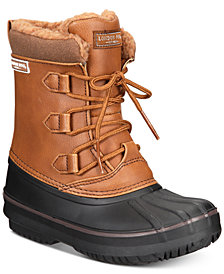 London Fog Little & Big Boys Cheshire Duck Boots
