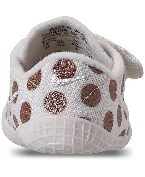 742a797db ... Nike Girls  Infant Waffle 1 Premium Crib Booties from Finish Line ...