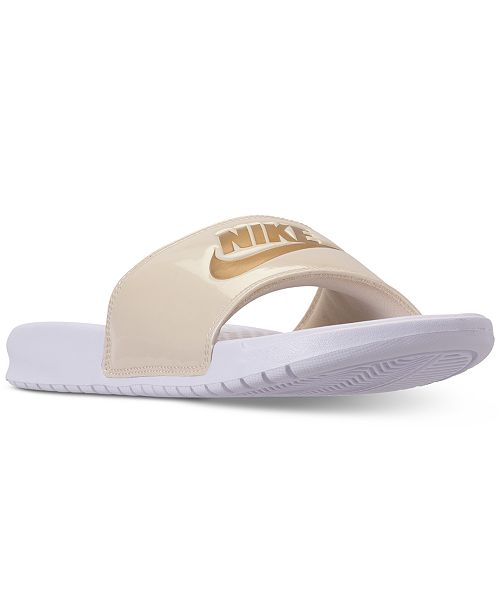 9d8efea15ecc Nike Women s Benassi Just Do It Print Slide Sandals from Finish Line ...