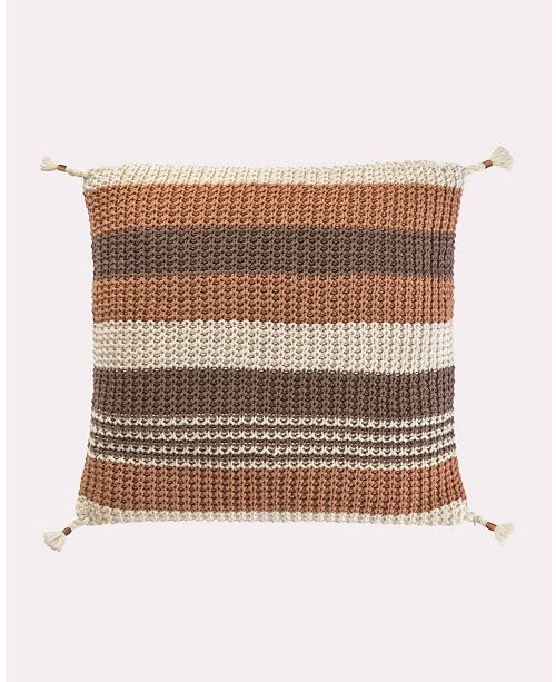 "Tracy Porter Horizon 20"" Stripe Pillow"