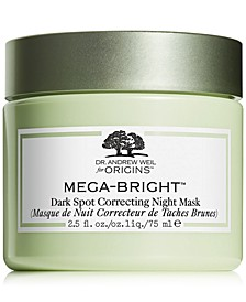 Dr. Andrew Weil for Origins Mega-Bright Dark Spot Correcting Night Mask, 2.5oz