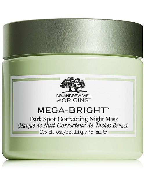 Origins Dr. Andrew Weil for Origins Mega-Bright Dark Spot Correcting Night Mask, 2.5oz