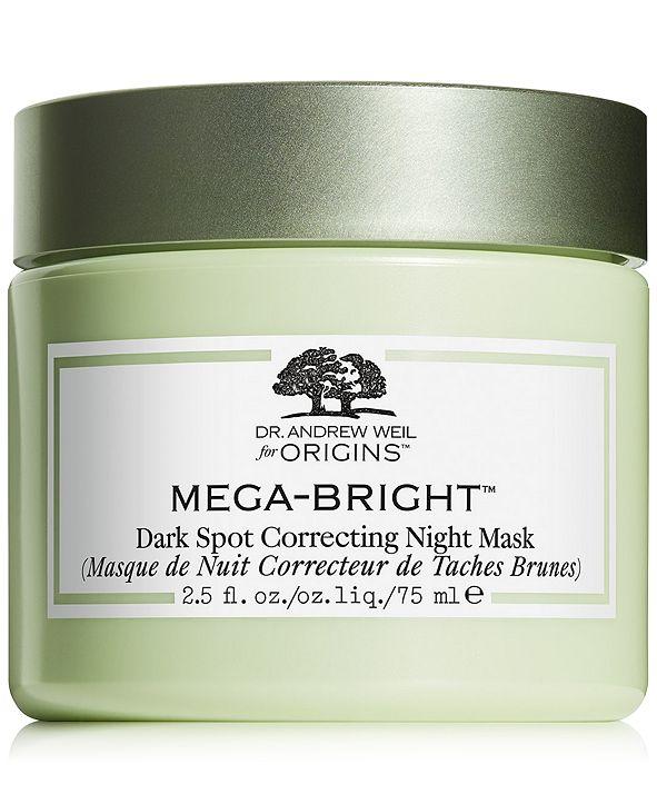 Origins Dr. Andrew Weil for Origins Mega-Bright Dark Spot Correcting Night Mask, 2.5oz
