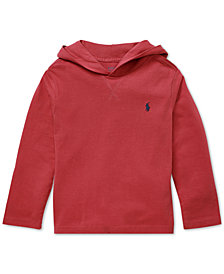 Polo Ralph Lauren Big Boys Cotton Jersey Hoodie