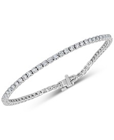 Diamond Tennis Bracelet (4 ct. t.w.) in 14k White Gold