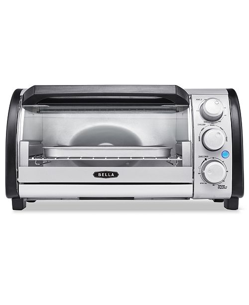 Bella 14326 Toaster Oven 4 Slice Capacity & Reviews - Small ...