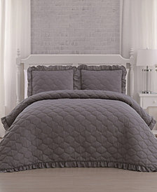 Melody 3pc King Quilt Set