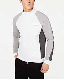 A|X Armani Exchange Men's Colorblocked Jacket
