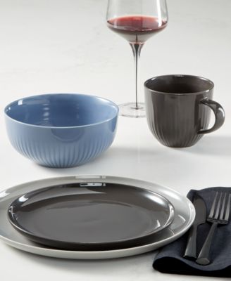 Modern Dinnerware Porcelain Dinner Plate, Created for Macy's
