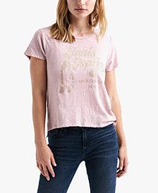 Lucky Brand Cotton Janis Joplin Graphic T-Shirt