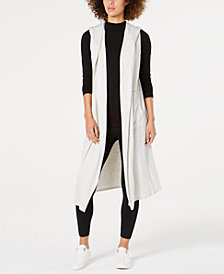 Calvin Klein Performance Hooded Long Vest