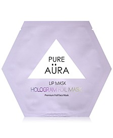 Lip Mask Hologram Foil Mask