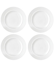 Dansk Café Blanc Dinner Plates, Set of 4