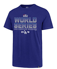 '47 Brand Men's Los Angeles Dodgers World Series ID Club T-shirt