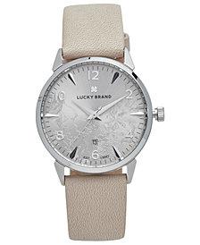 Lucky Brand Women's Torrey Blush Leather Strap Watch 34mm
