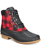 9b6c2e2c8a067e Tommy Hilfiger Men s Casey Waterproof Duck Boots Created for Macy s