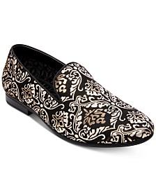 Steve Madden Men's Charmer Smoking Slippers