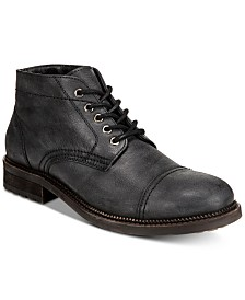 Dr. Scholl's Men's Airborne Cap-Toe Leather Boots