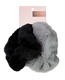 Kitsch Faux Fur Scrunchies