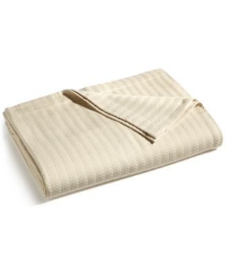 Egyptian Cotton Twin Blanket, Created for Macy's