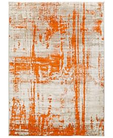 "Surya Jax JAX-5032 Burnt Orange 18"" Square Swatch"