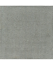 "Surya Mystique M-211 Medium Gray 18"" Square Swatch"