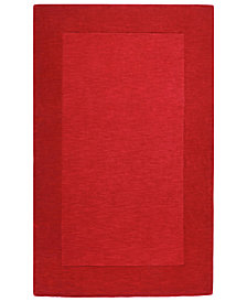 "Surya Mystique M-299 Dark Red 3'3"" x 5'3"" Area Rug"