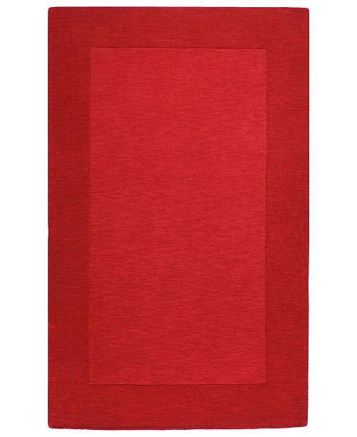 """Surya Mystique M-299 Dark Red 3'3"""" x 5'3"""" Area Rug"""