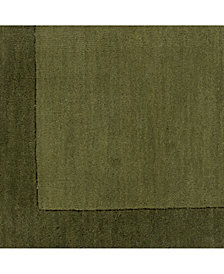 "Surya Mystique M-315 Dark Green 18"" Square Swatch"