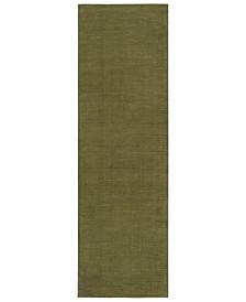 "Surya Mystique M-329 Sage 2'6"" x 8' Area Rug"