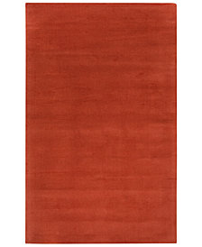 "Surya Mystique M-332 Burnt Orange 7'6"" x 9'6"" Area Rug"