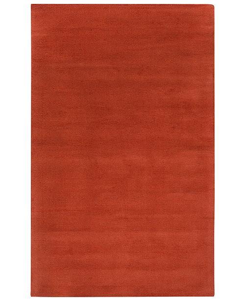Surya Mystique M-332 Burnt Orange 2' x 3' Area Rug