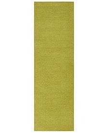 "Surya Mystique M-337 Lime 2'6"" x 8' Area Rug"