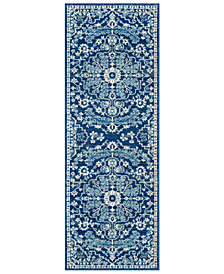 "Surya Harput HAP-1068 Blue 2'7"" x 7'3"" Area Rug"