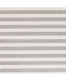 "Surya Horizon HRZ-1004 Medium Gray 18"" Square Swatch"