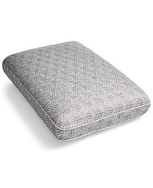 Martha Stewart Collection Charcoal Gusset Memory Foam Pillow Collection, Created for Macy's