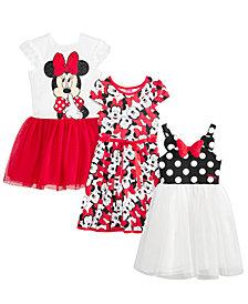 Disney Toddler & Little Girls Minnie Mouse Dresses