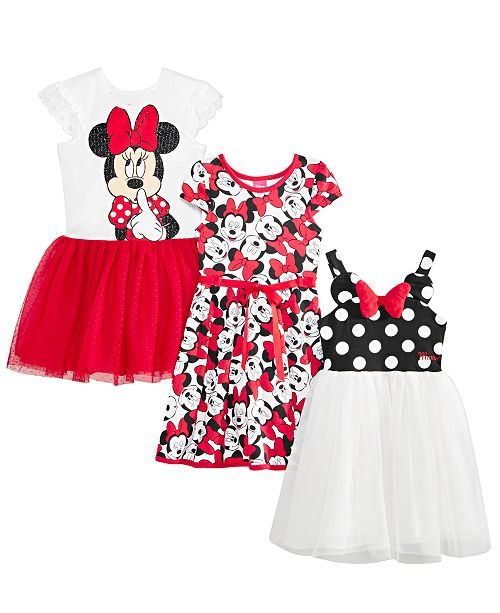 Disney Toddler & Little Girls Minnie Mouse Dresses