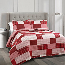 Greenville 3-Piece Full/Queen Quilt Set