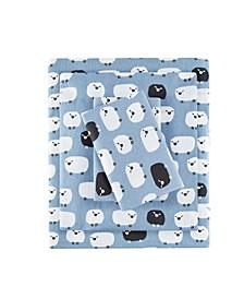 Flannel Queen Cotton Sheet Set