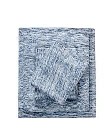 Urban Habitat Space Dyed Full Cotton Jersey Knit Sheet Set