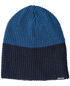 Rip Curl Men's Colorblocked Waffle-Knit Beanie