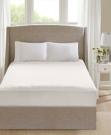 Beautyrest 100% Cotton Deep Pocket Heated Mattress Pad Collection