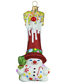 Joy To The World Glitterazzi Gnome Sweet Gnome Snowman