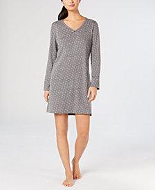 Charter Club Printed Knit Sleepshirt, Created for Macy's