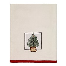 CLOSEOUT! Farmhouse Holiday Bath Towel