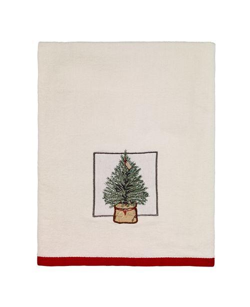 Avanti CLOSEOUT! Farmhouse Holiday Bath Towel