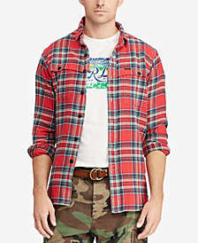 Polo Ralph Lauren Men's Great Outdoors Classic Fit Plaid Shirt